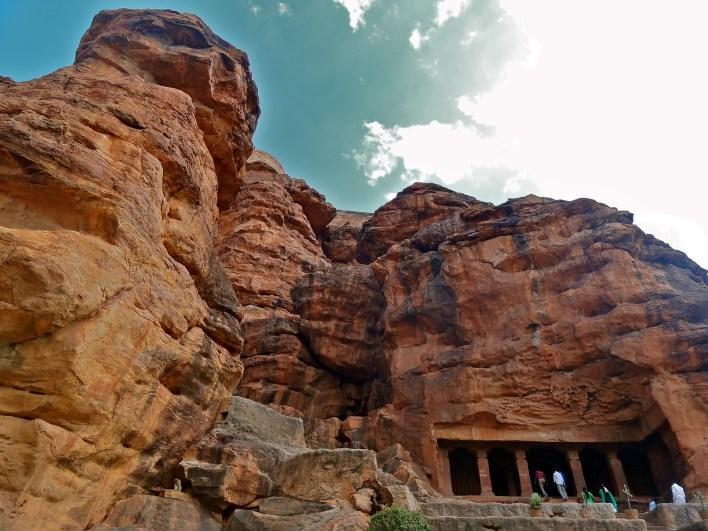 Badami, Badami caves, places to visit Hampi
