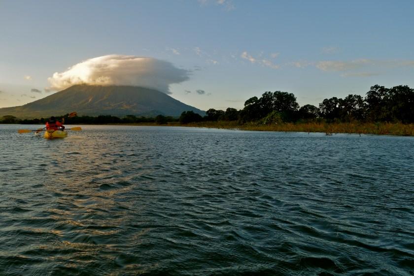 Isla de ometepe, concepcion volcano