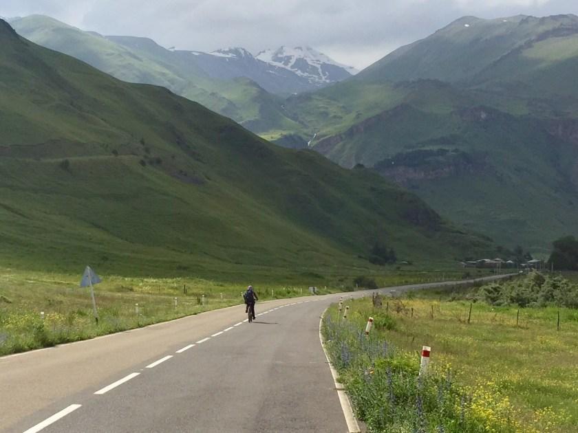 cycling georgia to russia, georgia travel blog, shivya nath