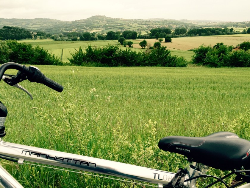 cycling in Umbria, Italian way of life, Italy travel blog