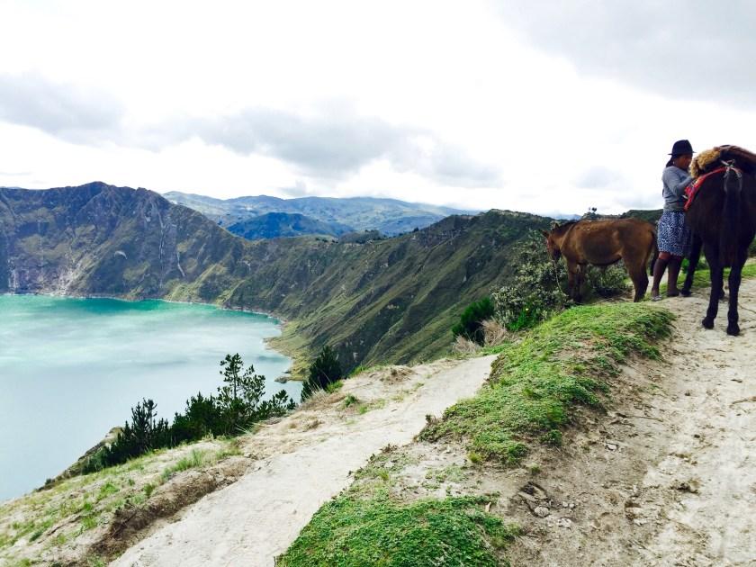 lake quilotoa, ecuador culture, ecuador people