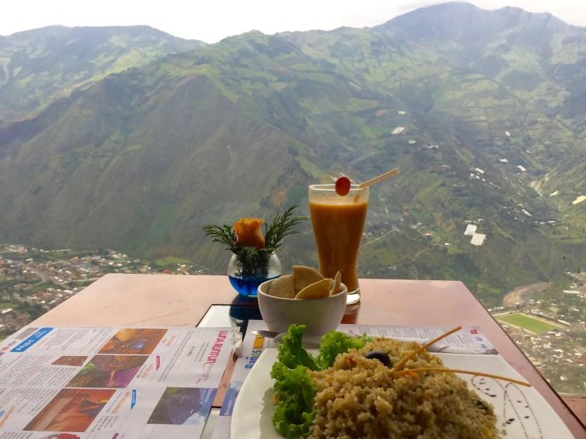 ecuador food, ecuador vegetarian food, ecuador vegan, ecuador blogs