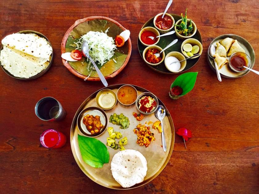 Gujarati thali, Gujarat food, Gujarat culture, vegan gujarat