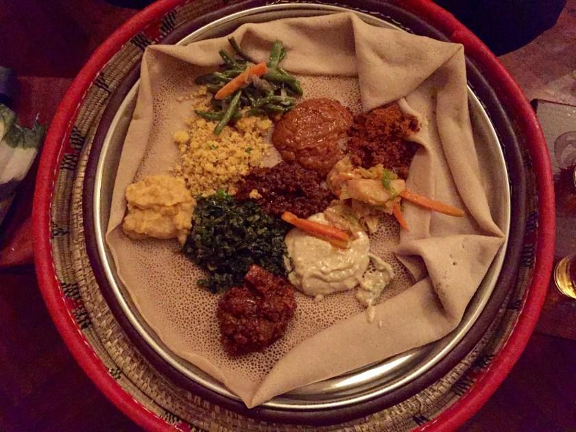 traditional ethiopian food, ethiopian cuisine, vegan ethiopia, vegan africa, fasting beyaynetu
