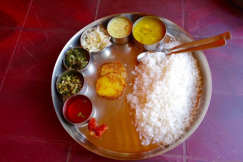 Goa vegetarian, Goa vegan, Goan food, Goan cuisine, Goa travel tips, goan thali
