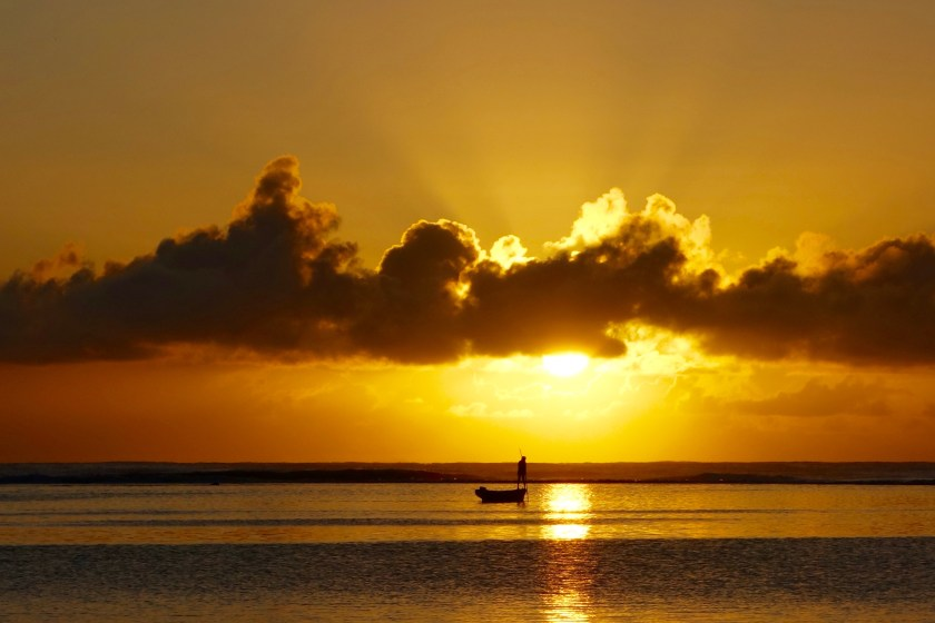 Mauritius sunrise, Mauritius travel blogs, Mauritius east coast