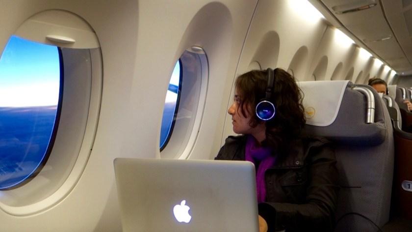 Lufthansa A350, A350 features, Lufthansa business class