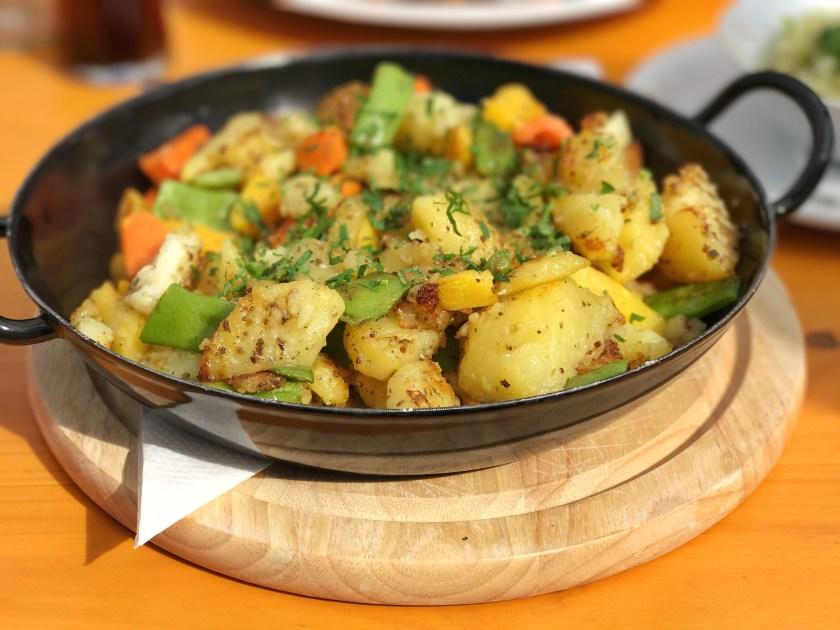 Tiroler grostl, vegan austria, traditional austrian food