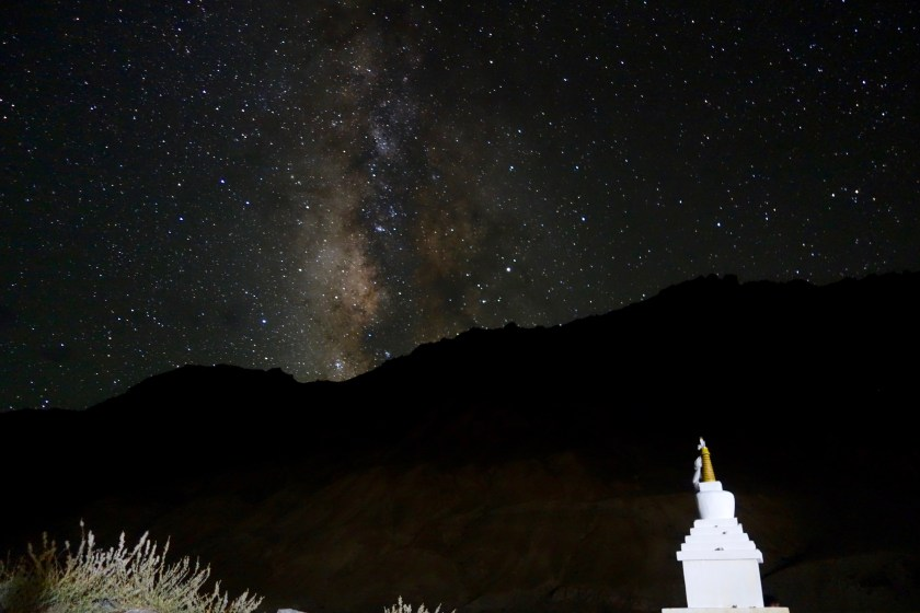 Spiti night sky, Spiti milky way, astro photography india