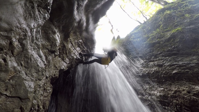 Canyoning tirol, Austria adventure blog, Indian adventure travellers