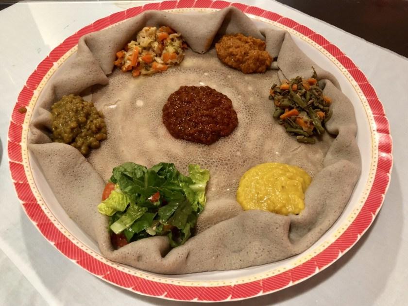 Ethiopian restaurant bangkok, ethiopian food, vegan food bangkok