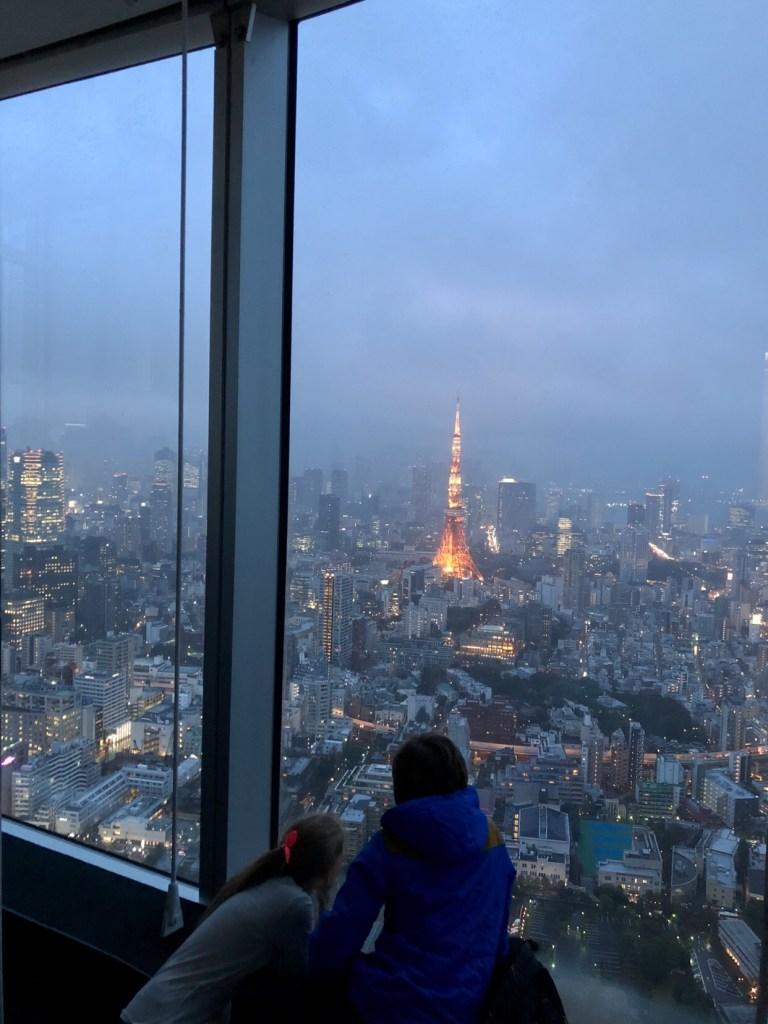 Tokyo skyline, Roppongi hills tokyo, why visit Japan
