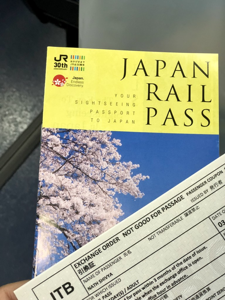 Japan rail pass, Japan rail pass worth it, Japan rail pass price, JR pass exchange order