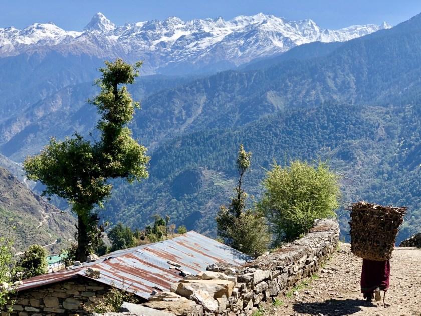 Green people, goat village raithal, community tourism India, sustainable tourism