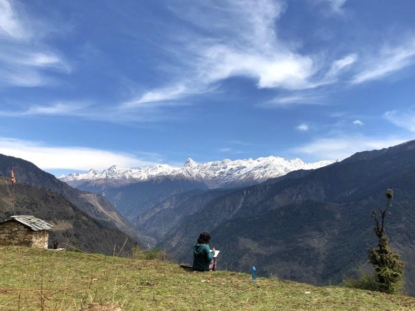 how to make money to travel, shivya nath, digital nomad life, goat village raithal