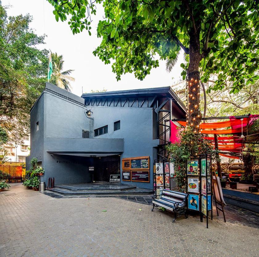 Prithvi theatre juhu, prithvi cafe, places to chill in mumbai, mumbai hangouts