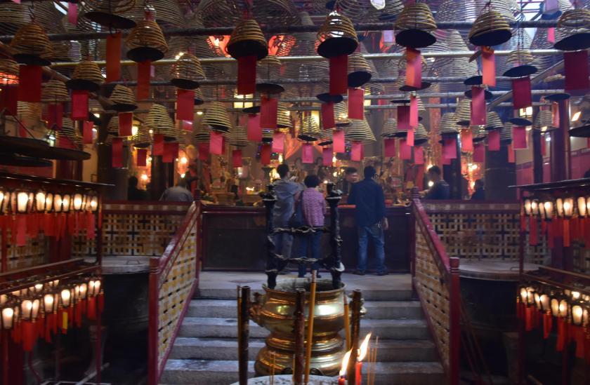 Man mo temple hong kong, hong kong transit