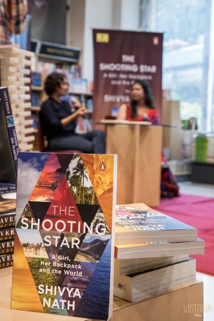 the shooting star book, the shooting star book launch, shivya nath