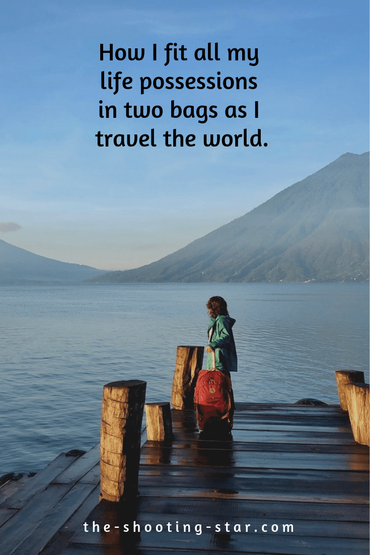 digital nomad packing list, packing for long term travel