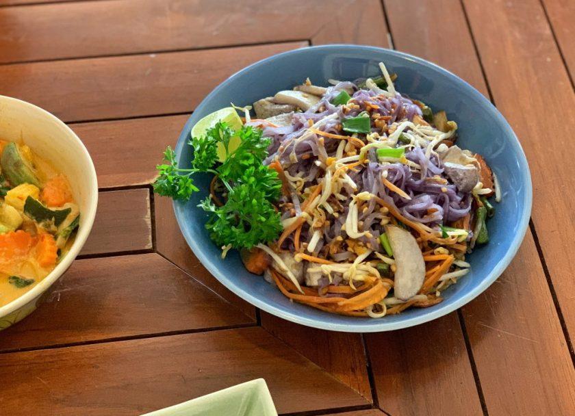 aanchan vegetarian restaurant, vegetarian food chiang mai, vegan food chiang mai