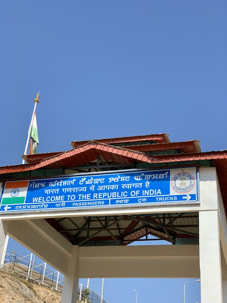 manipur border crossing, moreh tamu border crossing