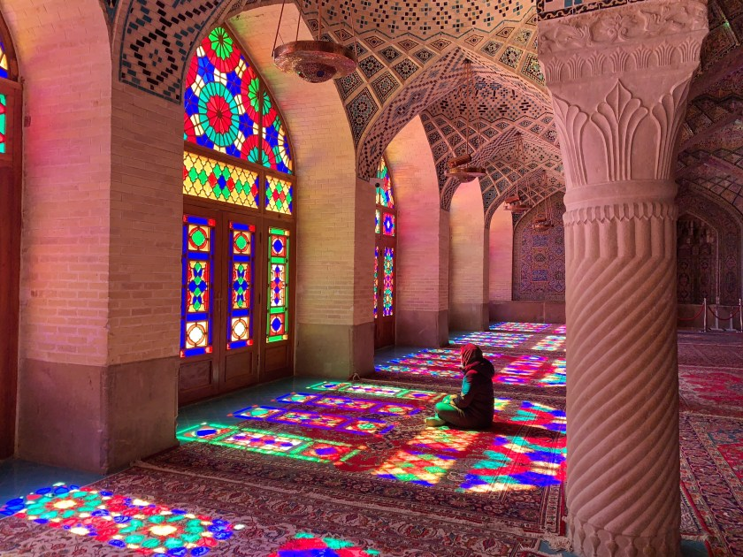 nasir ol molk shiraz, why visit iran, iran travel blogs, iran travel 2019