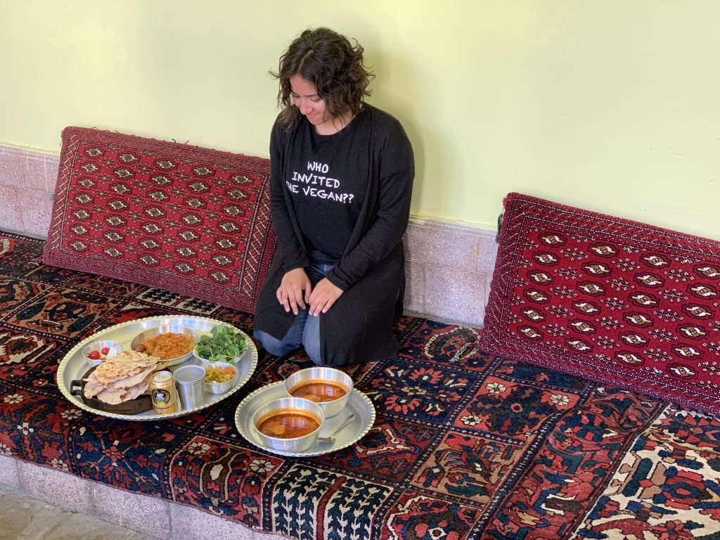 vegan food iran, khalvat house, how is iran as a country, persian cuisine