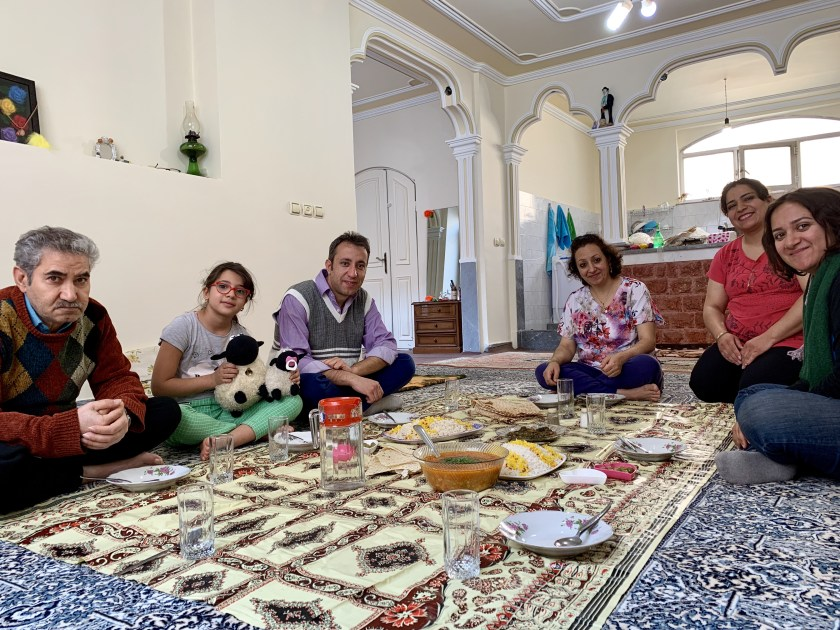 iran local homestays