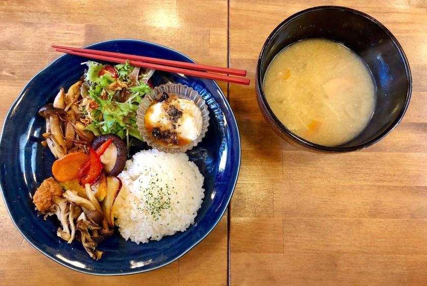 vegan japanese food, vegan in japan
