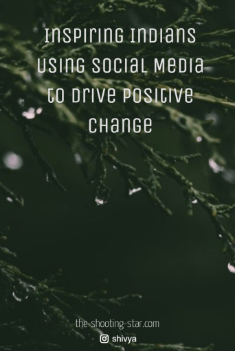 digital india, social media for good, social media positive change
