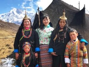 bhutan solo travel, bhutanese blogger, layap bhutan, western bhutan