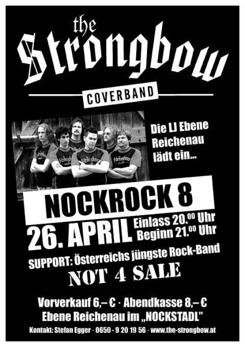 Plakat Nockrock 2008