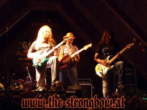 Coverband Strongbow in Döbriach / Rock the Camp 1