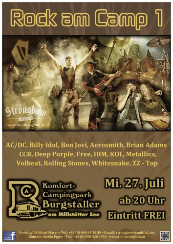 The Coverband Strongbow - Rock am Camp 1 - 2016