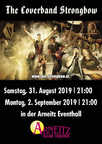 Camping Arneitz 2019 - The Coverband Strongbow