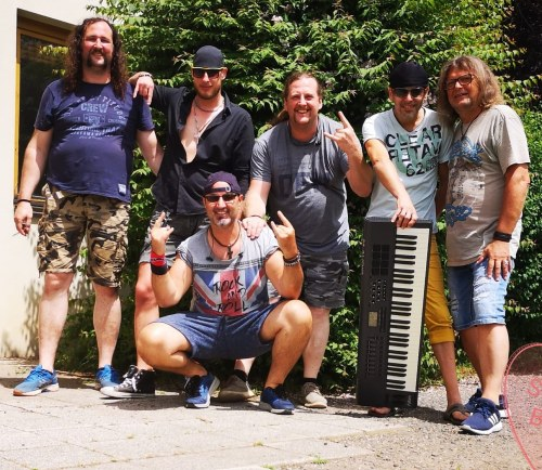 The Coverband Stronfbow mit Keyboarder Christian Carman