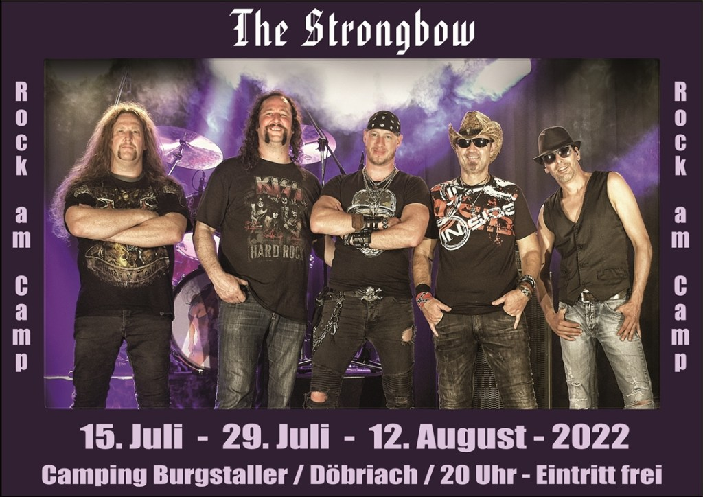 Rock am Camp - 2022 Termine - The Strongbow