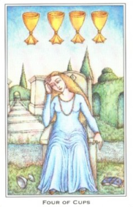 Four of Cups – A Gift From Heaven – The tarot