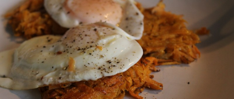 Healthy Sweet Potato Hashbrown
