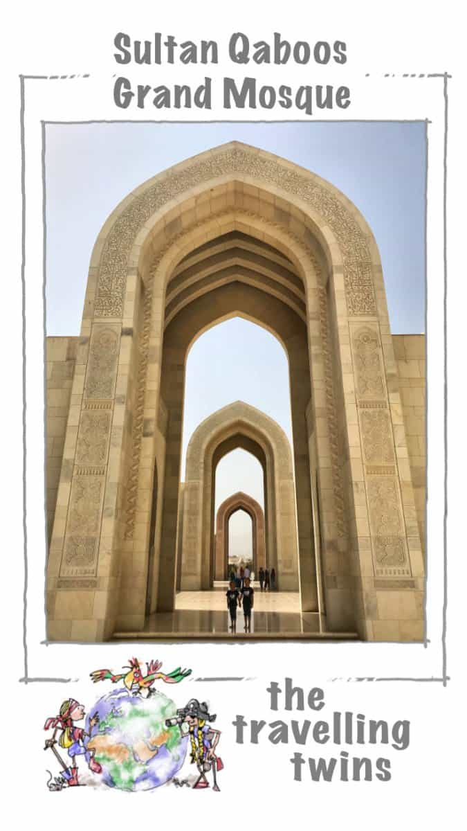 Oman has gained a number of big mosques over the last few years, but still the biggest and most important is Sultan Qaboos Grand Mosque. The site is over 400,000 sqm, and from whatever side you approach, it impresses - either with its architecture or the beautiful gardens.