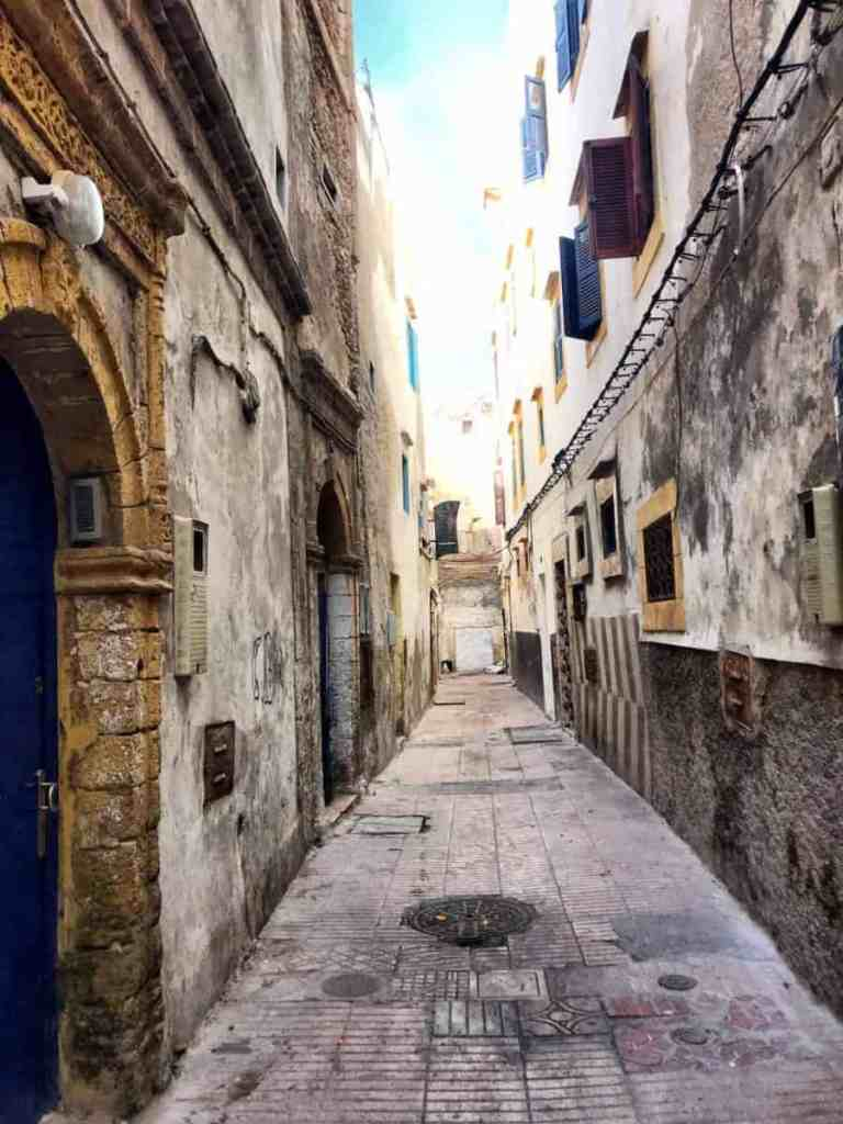 essaouira small streets