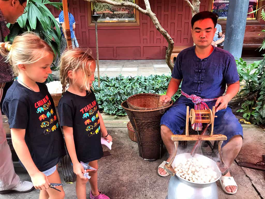 things to do in Bangkok with kids - visit Jim Thompson house