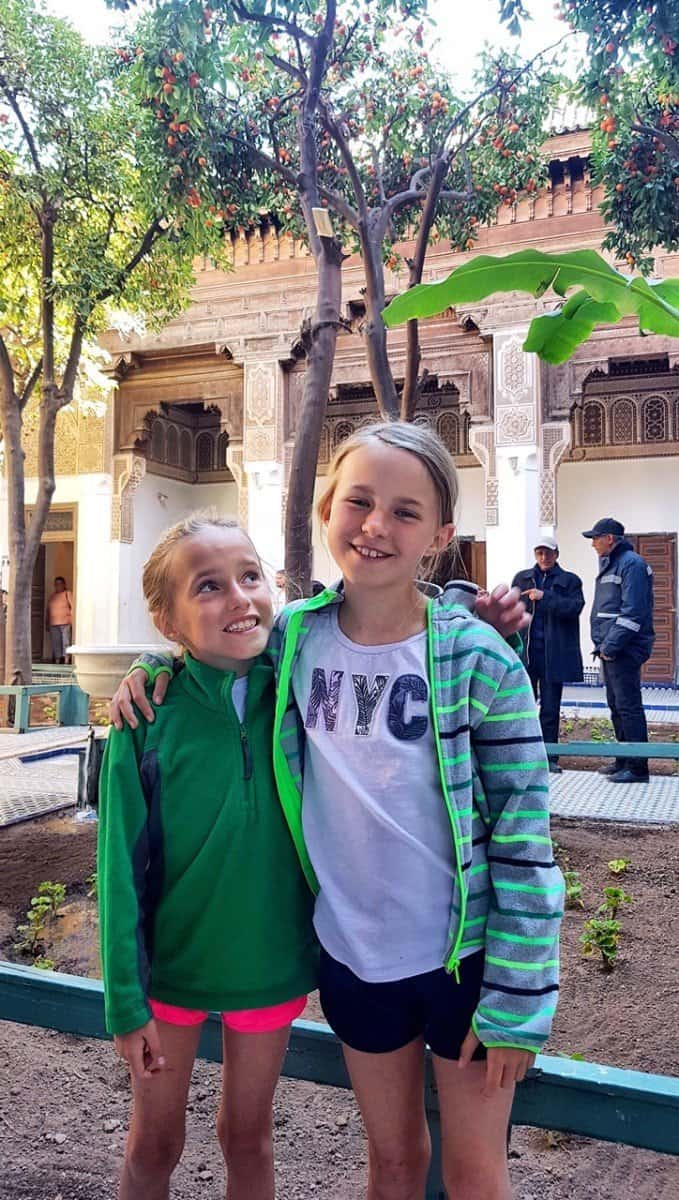 Marrakech with kids - Bahia Palace