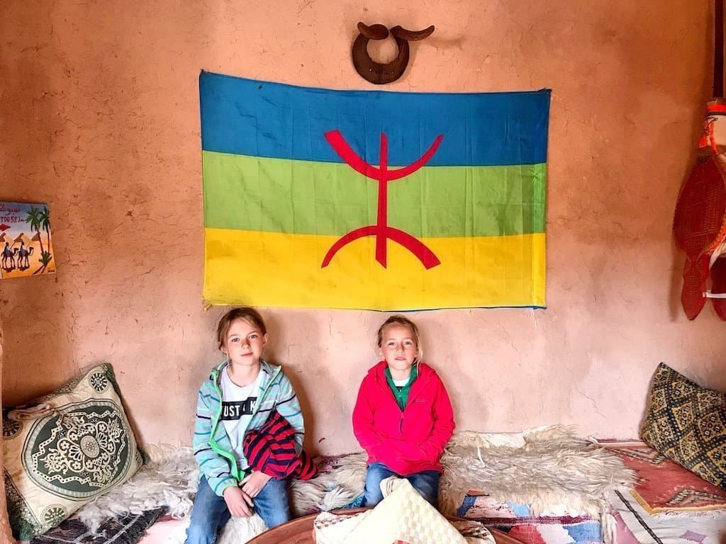 berber flag and symbol of freedom,