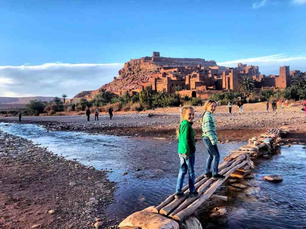 view of Ait Ben Haddou
