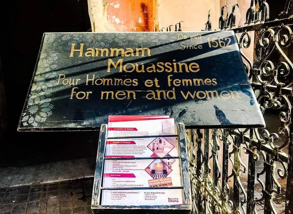 hammam-mouassine-marrakech, moroccan hammam , turkish bath