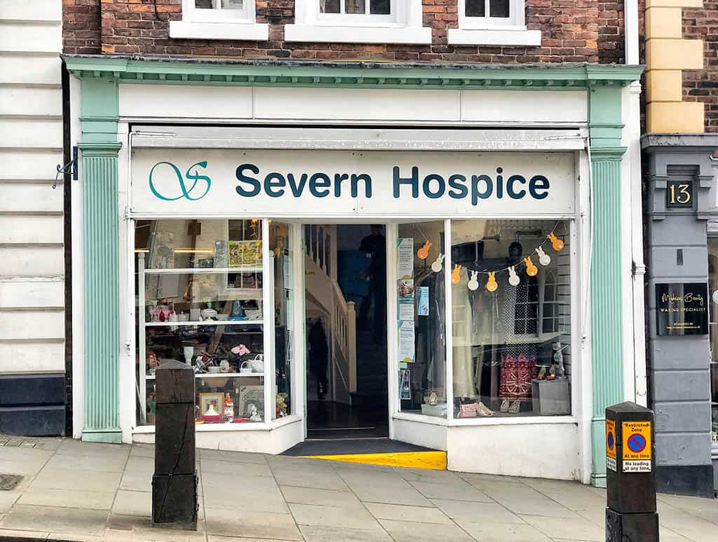 charities in shrewsbury - severn hospice , shrewsbury city center