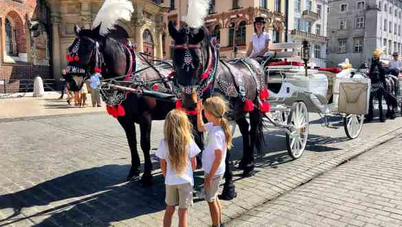 Krakow with kids