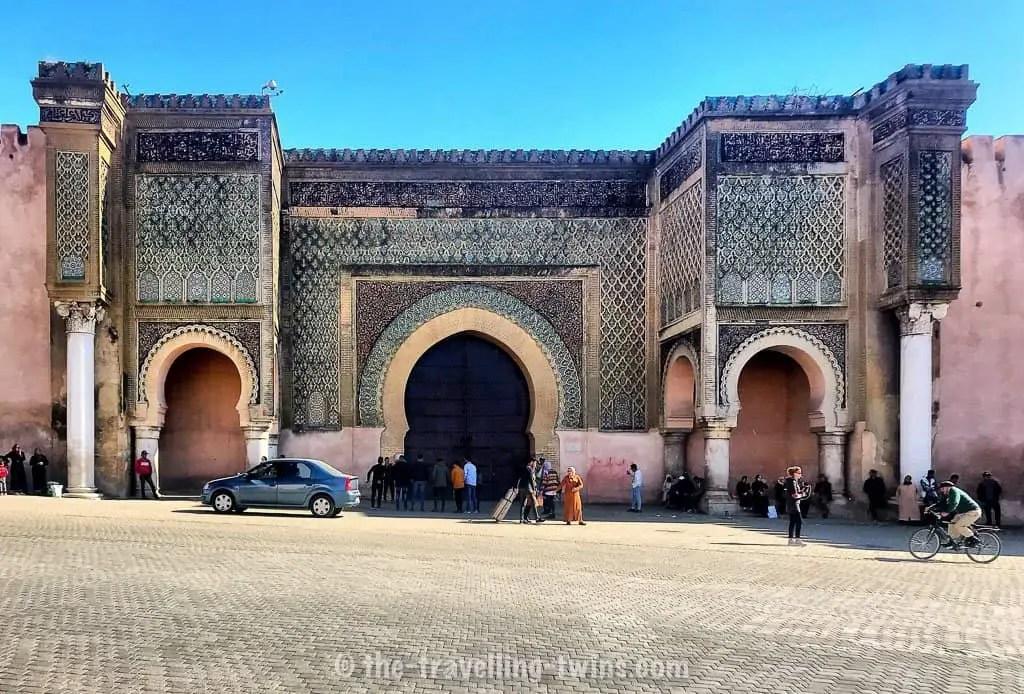 cultural gate to Meknes city