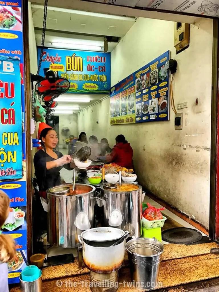 traditional vietnamese pho soup kids in hanoi hanoi with kids